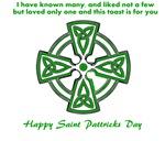 St patricks gaelic toast