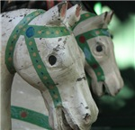 Carrousel Horses - Luxembourg Gardens