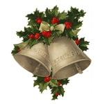 Vintage Christmas Bells - Sliver Bells