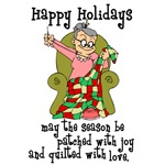 Happy Holidays - Quilter