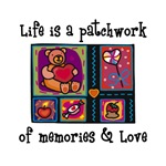 Life is A Patchwork - Quilt