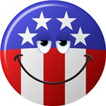 American Smiley Face