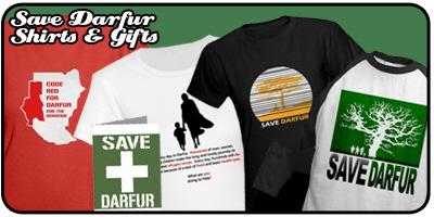 Save Darfur Shirts and Gifts