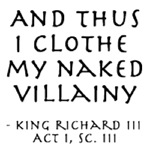 You Naked Villain!