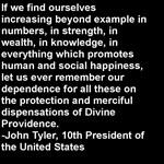 John Tyler Quote