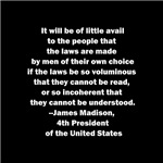 Quote by James Madison