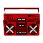 Red Boombox