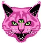 Hiss Cat Purple