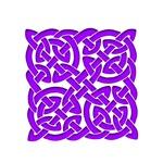 Celtic Knot Maze Purple