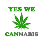 Yes We Cannabis Green