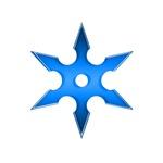 Blue Shuriken