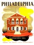 Philadelphia Pa. Carpenters Hall, 1936