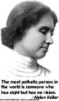Helen Keller - Vision