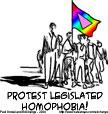 Protest Homophobia