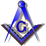 Masonic Square and Compass #2