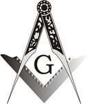 Masonic Square and Compass #37