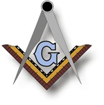 Masonic Square and Compass #26