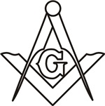 Masonic Square and Compass #22