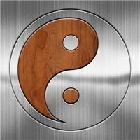 Wood Chrome Yang