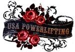 USA POWERLIFTING ROSE