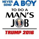 Never Send A Boy