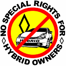No Special Rights For Hybrids!