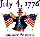July 4th - Remember the reason!
