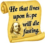 Franklin Quote - Die Fasting
