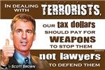 Scott Brown - Dealing With Terrorists