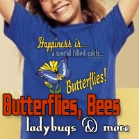 Butterflies, Ladybugs, Bees & More
