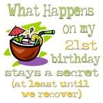 What Happens 21st