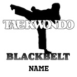 Personalized TKD Black Belt