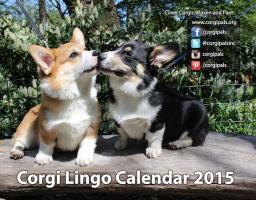 2015 CorgiPals Corgi Lingo Calendar
