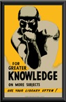 The Thinker promotes Knowledge