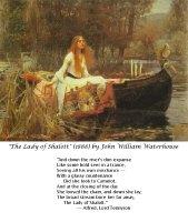 Waterhouse's The Lady of Shalott