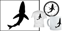 Signature Blue Shark Logo