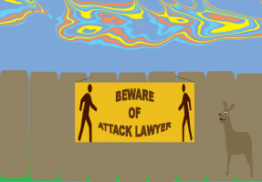 HUMOR/BEWARE OF THE LAWYER