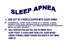 HEALTH/SLEEP APNEA