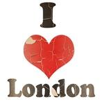 Vintage I Heart London