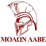 Spartan Greek Come and Take It