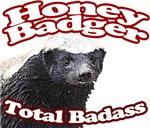 Honey Badgers Total Badass