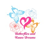 Butterflies and roses dreams