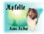 My Collie Makes My Day