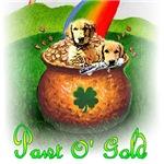Golden Retriever_Pot of Gold