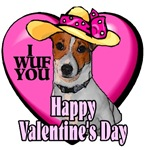 Jack Russell Terrier  Valentines Day Gifts