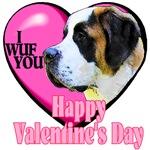 Saint Bernard  Valentines Day Gifts