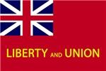 Tauton Liberty and Union Flag
