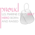 Marine Corps Brat (pink)