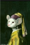 Mouse with Pearl Earring
