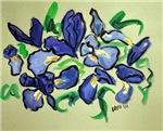 Country Dance Irises